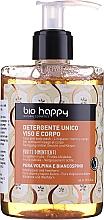 """Profumi e cosmetici Gel per viso e corpo """"Volpina, pera e biancospino"""" - Bio Happy Volpina, Pear & Hawthorn Face & Body Wash"""