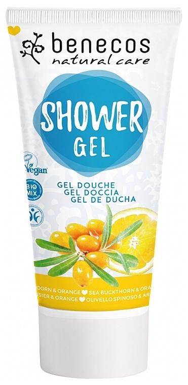 "Gel doccia ""Olivello spinoso e arancia"" - Benecos Natural Care Sea Buckthorn & Orange Shower Gel"