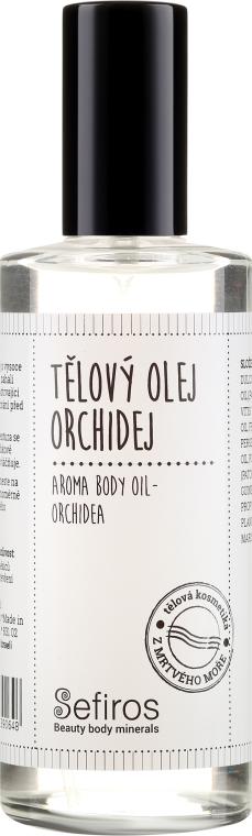 Olio corpo Orchidea - Sefiros Aroma Body Oil Cream Orchidea