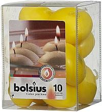 Profumi e cosmetici Set di candele decorative, gialle - Bolsius