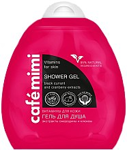 "Profumi e cosmetici Gel doccia ""Vitamine per la pelle"" - Cafe Mimi Shower Gel"