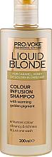 Profumi e cosmetici Shampoo che esalta il colore dei capelli biondi - Pro:Voke Liquid Blonde Colour Infusion Shampoo