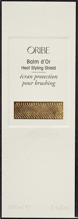 Balsamo termoprotettivo per capelli danneggiati - Oribe Balm d`Or Heat Styling Shield — foto N3