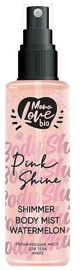 "Spray corpo ""Anguria"" - MonoLove Bio Shimmer Body Mist Watermelon Pink Shine"