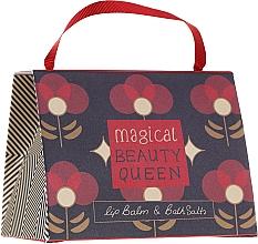 Profumi e cosmetici Set - Bath House Barefoot & Beautiful Magical Beauty Queen (lip/balm/15g + b/salt/100g)