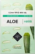 Profumi e cosmetici Maschera viso ultrasottile con estratto di aloe - Etude House Therapy Air Mask Aloe