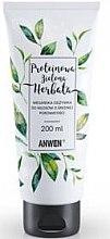 Profumi e cosmetici Condizionante per capelli a media porosità - Anwen Protein Vegan Conditioner for Hair with Medium Porosity Green Tea