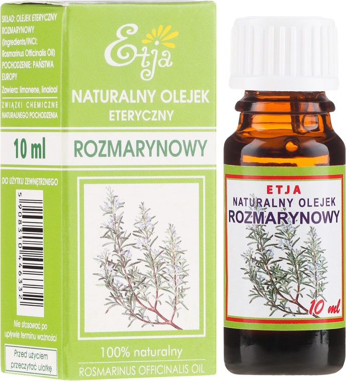 Olio essenziale naturale di rosmarino - Etja Natural Essential Oil