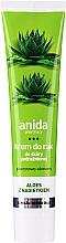 Profumi e cosmetici Crema mani all'aloe - Anida Pharmacy Aloe Hand Cream