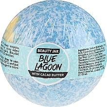 Profumi e cosmetici Bomba da bagno al burro di cacao - Beauty Jar Blue Lagoon