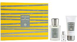 Profumi e cosmetici Acqua Di Parma Colonia Pura - Set (edc/100ml + sh/gel/50ml + edc/mini/5ml)