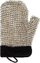 Profumi e cosmetici Spugna da bagno massaggiante, uomo - Suavipiel Black Men Sisal Glove