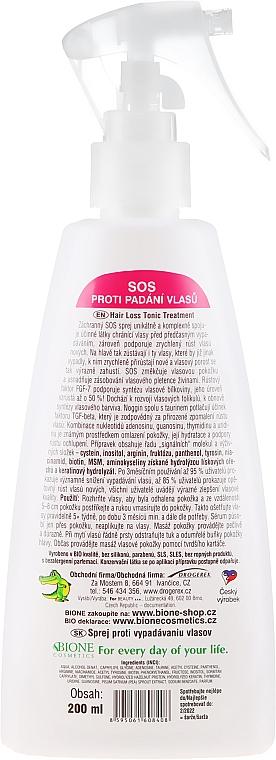 Spray capelli anticaduta - Bione Cosmetics SOS Anti Hair Loss For Women — foto N2