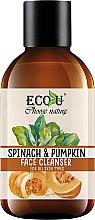 """Profumi e cosmetici Detergente viso per tutti i tipi di pelle """"Zucca e spinaci"""" - Eco U Pumpkins And Spinach Face Cleanser"""