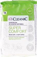 Profumi e cosmetici Salviette intime, 10 pz - Cleanic Super Comfort Wipes