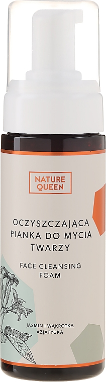 Schiuma detergente viso - Nature Queen