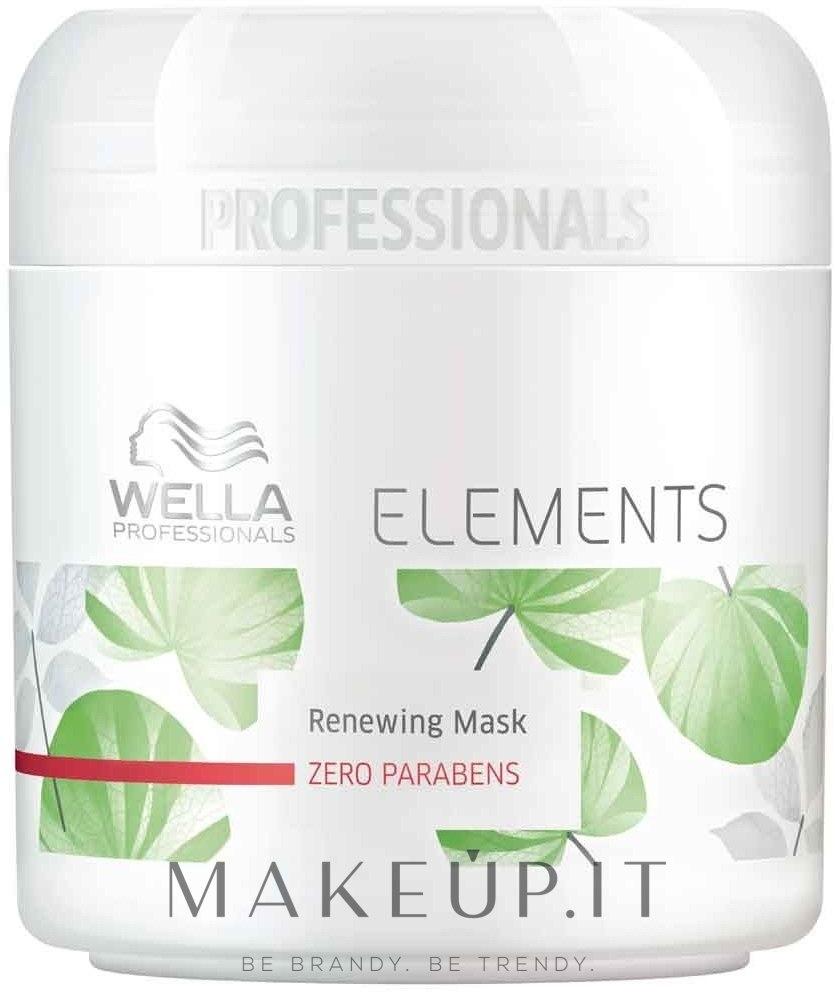 Maschera per capelli - Wella Professionals Elements Renewing Mask — foto 150 ml