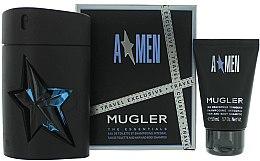Profumi e cosmetici Mugler A Men - Set (edt/100 + sh/g/50)