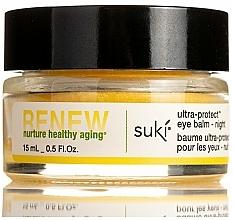 Profumi e cosmetici Balsamo contorno occhi, da notte - Suki Renew Ultra-Protect Eye Balm Night