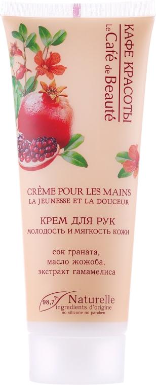"""Crema mani """"Giovinezza e morbidezza della pelle"""" - Le Cafe de Beaute Hand Cream"""