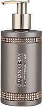 Profumi e cosmetici Sapone liquido - Vivian Gray Brown Crystals Luxury Cream Soap