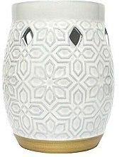 Profumi e cosmetici Aroma lampada - Yankee Candle Wax Burner Addison Patterned Ceramic