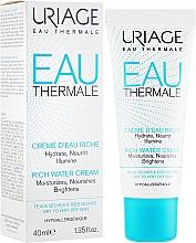 Profumi e cosmetici Crema idratante - Uriage Eau Thermale Rich Water Cream