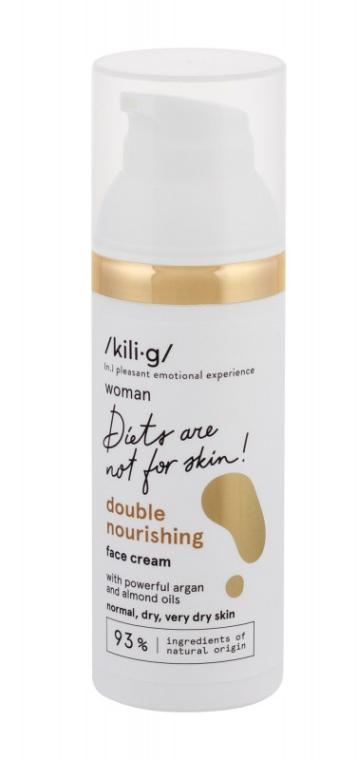 Crema con doppio effetto nutriente per pelli normali e secche - Kili·g Woman Double Nourishing Cream — foto N2