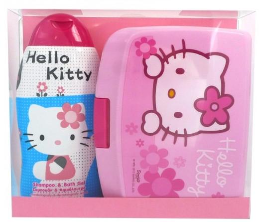 Set shampoo+maschera - Disney Hello Kitty (shm/bath/gel 300ml + lunch box) — foto N1