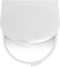 Profumi e cosmetici Specchietto cosmetico tascabile, bianco - Titania