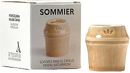 Profumi e cosmetici Portaspazzolino, beige - NaturBrush Sommier Toothbrush Holder
