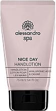 Profumi e cosmetici Lozione mani idratante - Alessandro International Spa Nice Day Hand Lotion