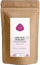 Profumi e cosmetici Scrub corpo biologico - Eliah Sahil Organic Peeling Rose Argan (ricarica)