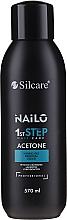 Profumi e cosmetici Solvente per gel-smalto - Silcare Nailo Aceton