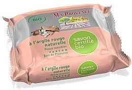 """Profumi e cosmetici Sapone organico all'aroma di legno provenzale """"Argilla rossa"""" - Ma Provence Nature Soap"""