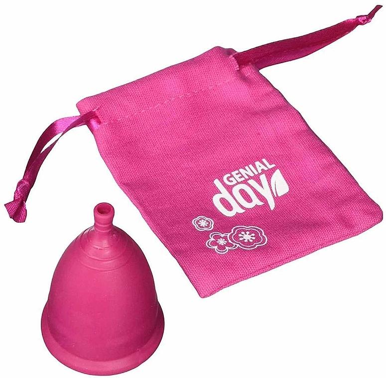 Coppetta mestruale taglia L - Genial Day Menstrual Cup Large — foto N4