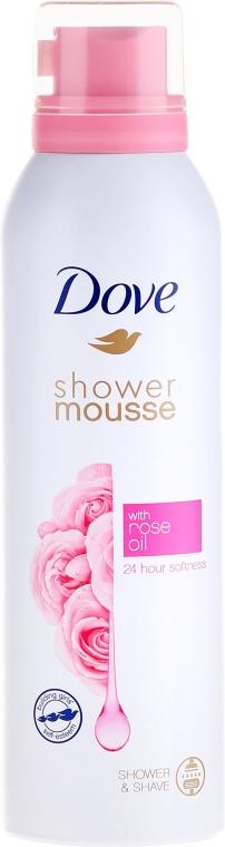 Mousse da doccia - Dove Rose Oil Shower Mousse