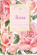 """Profumi e cosmetici Sapone naturale """"Rosa"""" - Saponificio Artigianale Fiorentino Masaccio Rose Soap"""