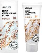 Profumi e cosmetici Schiuma detergente con estratto di riso - Lebelage Rice Cleansing Foam