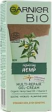 Profumi e cosmetici Crema-gel rivitalizzante alla canapa - Garnier Bio Multi-Repair Gel-Cream