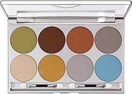 Profumi e cosmetici Palette ombretti - Kryolan Dermacolor Light Eye Shadow Palette 8 Colors