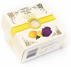 """Profumi e cosmetici Sapone nella scatola """"Verbena e Limone"""" - Delicate Organic Aroma Soap Verbena and Lemon"""