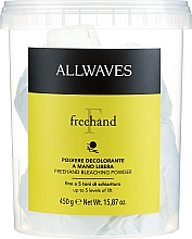 Profumi e cosmetici Polvere schiarente per capelli - Allwaves Freehand Bleaching Powder