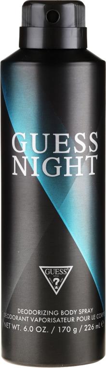 Guess Night - Zestaw (edt/100ml + sh/gel/200ml + deo/226ml) — foto N3