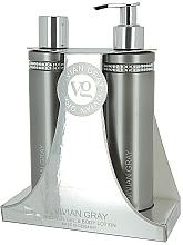 Profumi e cosmetici Set - Vivian Gray Grey Crystal (sh/gel/250ml + b/lot/250ml)