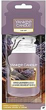 Profumi e cosmetici Aromatizzatore per auto - Yankee Candle Car Jar Dried Lavender & Oak