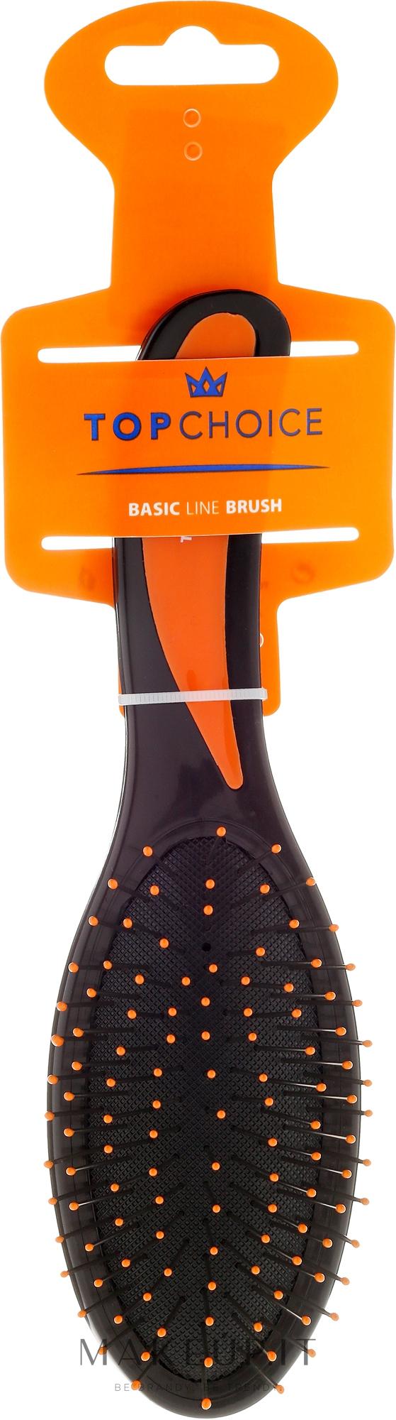 Top Choice - Spazzola per capelli, nero-arancione, 2731 ...