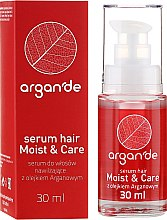 Profumi e cosmetici Siero per capelli - Stapiz Argan'de Moist & Care Serum
