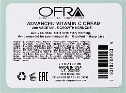 Crema viso alla vitamina C - Ofra Advanced Vitamin C Cream — foto N4