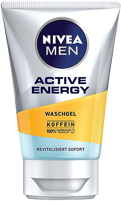 "Gel detergente ""Carica di energia"" - Nivea Men Active Energy Caffeine Face Wash Gel"